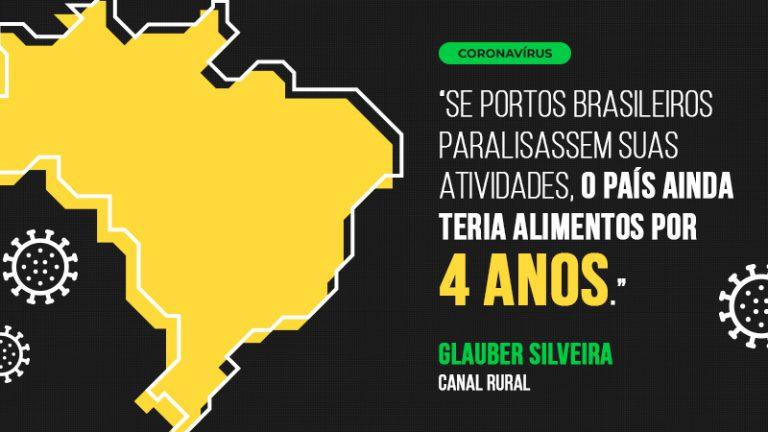 Coronavírus: Brasil teria alimentos por 4 anos se portos paralisassem atividades